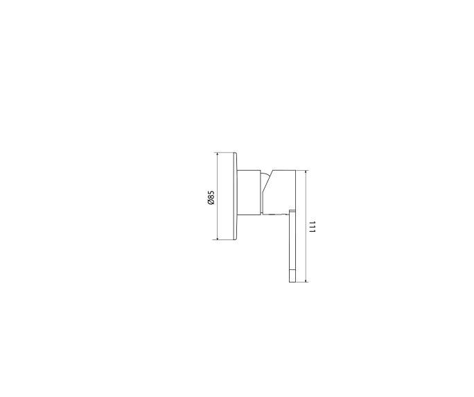 שרטוט של מערכת קיר מושלמת Clear 305382